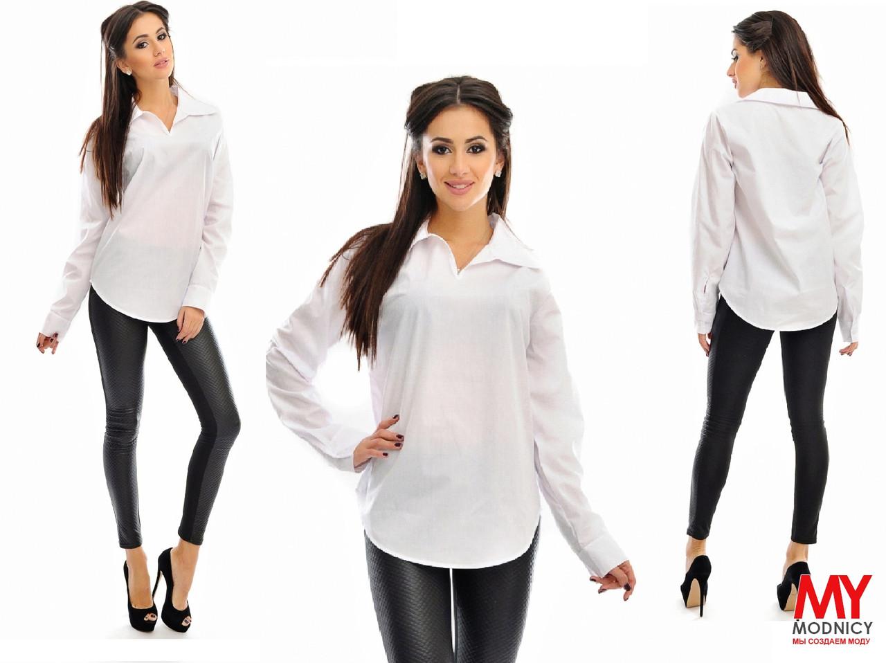 Белая рубашка 3366