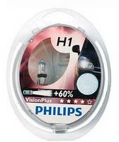 Галогенные лампы PHILIPS H1 VisionPlus SP 12V 55W 12258VPS2