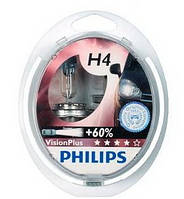 Галогенные лампы PHILIPS H4 VisionPlus SP 12V 60/55W 12342VPS2