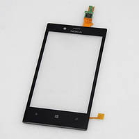 Тачскрин сенсорное стекло для Nokia Lumia 720 black