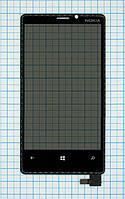 Тачскрин сенсорное стекло для Nokia Lumia 920 black