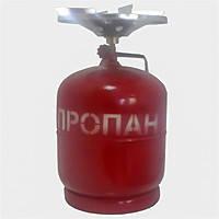 Баллон газовый бытовой 8 л с горелкой