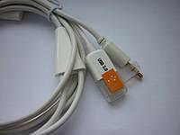 Автомобильный аудио кабель 30 pin - AUX и USB для iPhone 3G 3GS 4 4S