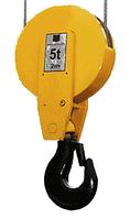 Крюковая подвеска для тельферов (модификация 2)