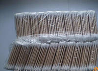 Ушные ватные палочки ,деревянные.В одной упаковке 80 шт.