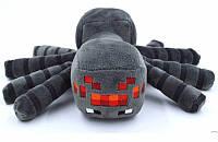 Cимпатичная мягкая плюшевая игрушка Minecraft Паучок 17 см