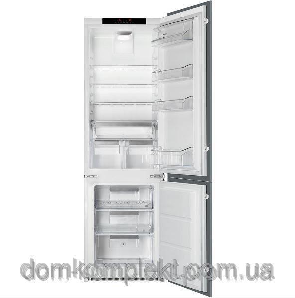 Встраиваемый комбинированный холодильник SMEG UNIVERSAL C7280NLD2P
