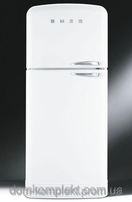 Отдельностоящий  двухдверный холодильник 50'S RETRO STYLE SMEG FAB50BS