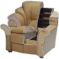 Перетяжка кожаной мебели, фото 1