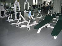Резиновые покрытия для тренажерных залов