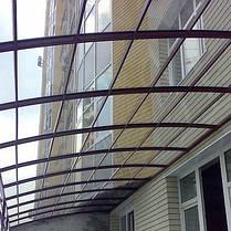 Монолитный поликарбонат 2мм прозрачный, 2,05*4м, фото 3