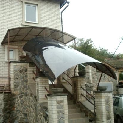 Монолитный поликарбонат 4мм бронзовый, 2,05*3,05м