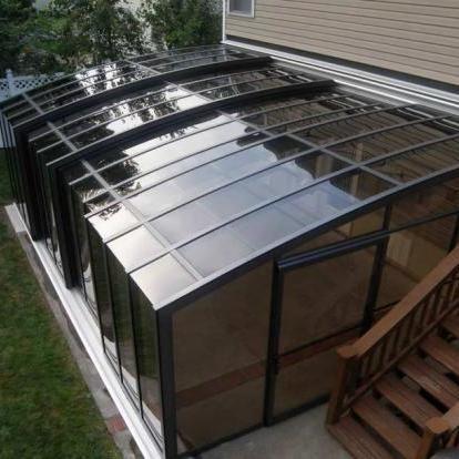 Монолитный поликарбонат 10мм бронзовый, 2,05*3,05м