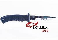 Нож для подводной охоты SARGAN Дерсу Узала TORPEDO зеркальный