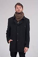 Стильный мужской шарф-хомут цвет Светло-коричневый