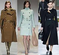 Модные платья и пальто сезона осень-зима
