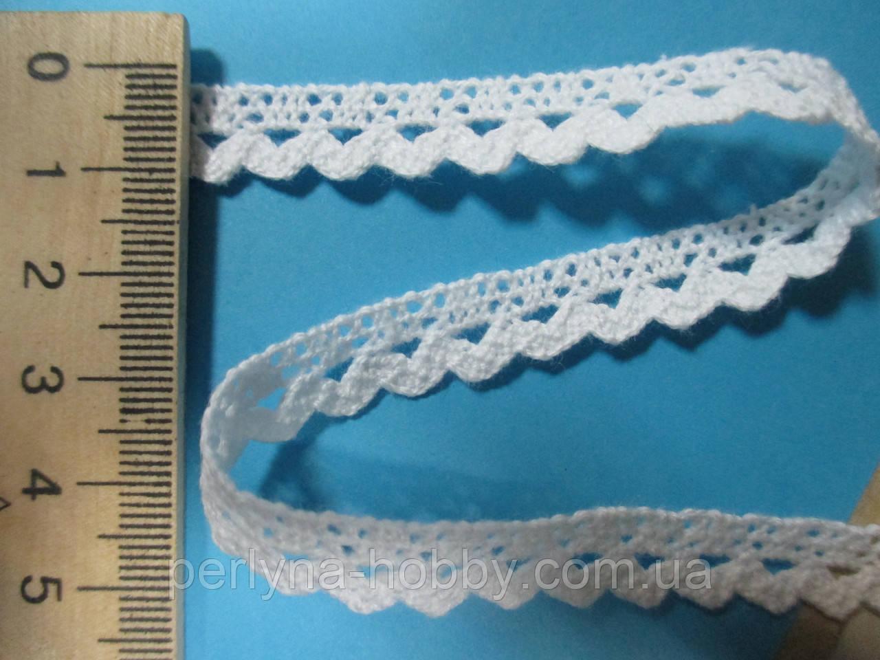 Мереживо натуральне біле 1 см.  продажа 6c21a6d482e87