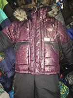 Зимний детский комбинезон (костюм) для мальчика Малиновый лабиринт
