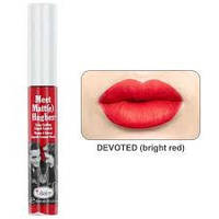 Рідка матова помада theBalm Liquid Lipstick Meet Matt(e) Hughes - Devoted