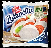 Сир Моцарелла Цоттарела 45% / Mozzarella Zottarella 45%, 0.125кг