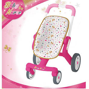 Коляска для ляльок Baby Nurse Poussette Pop Smoby 251223, фото 2