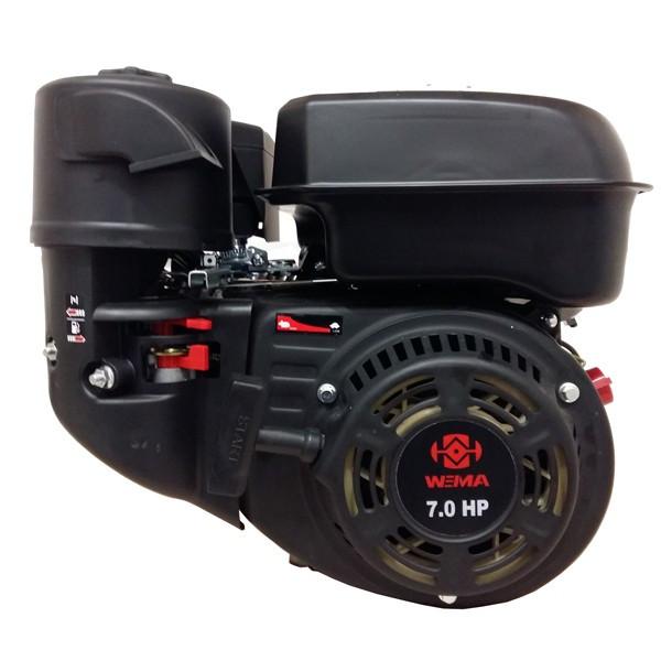Бензиновый двигатель WEIMA  WM170F-S NEW (шпонка, вал 20мм)
