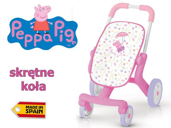Коляска для ляльок Свинка Пеппа Poussette Pop Smoby 251206