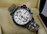 Кварцевые мужские часы Curren с хронометром, фото 1