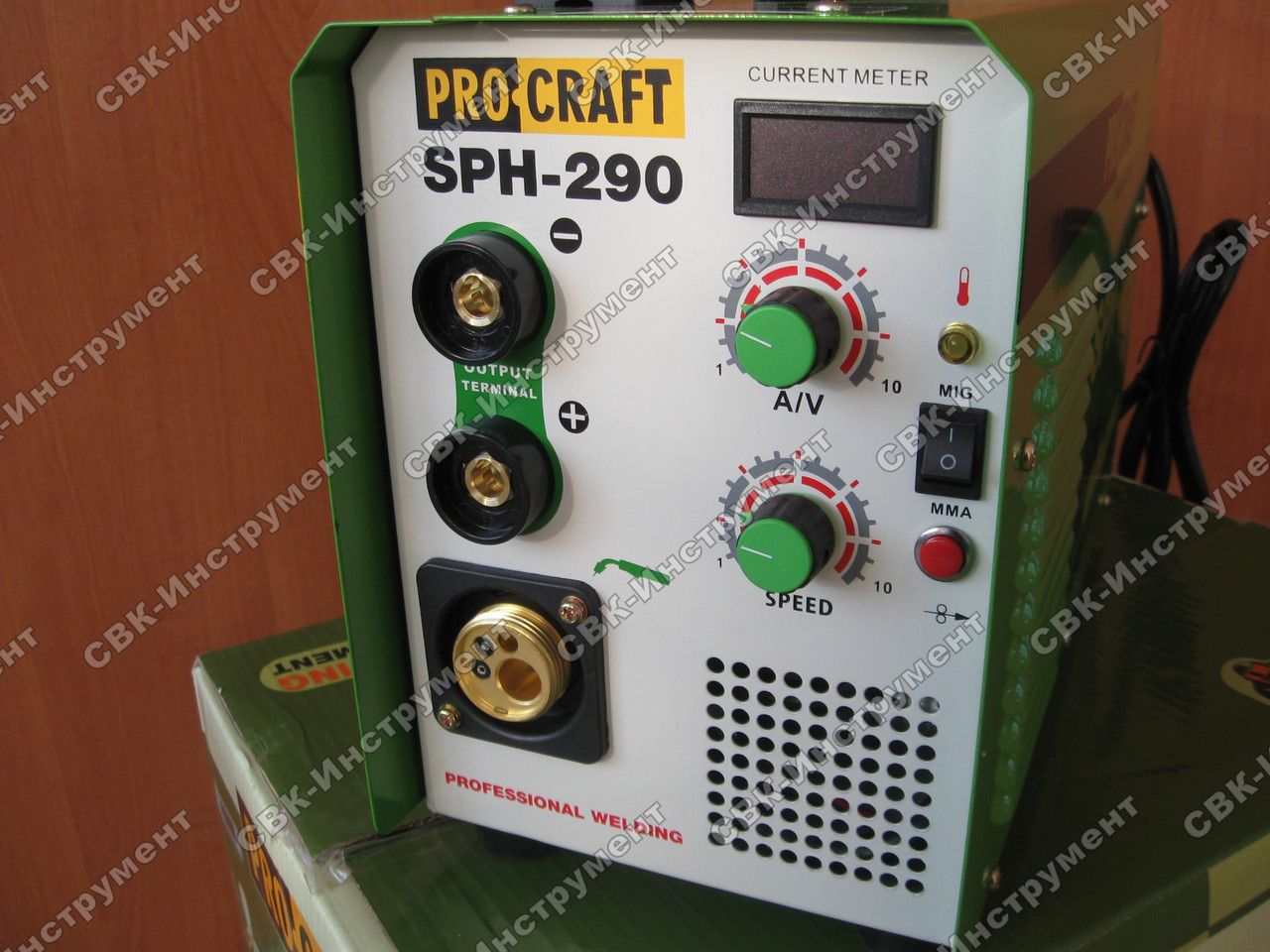 Сварочный полуавтомат 2 в 1 Procraft SPH-290
