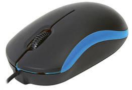Мышь компьютерная Omega OM-07 3D optical Blue