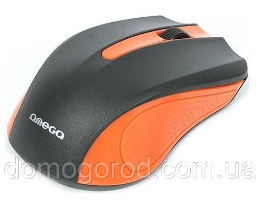 Мышь компьютерная Omega OM-05O optical Orange blister