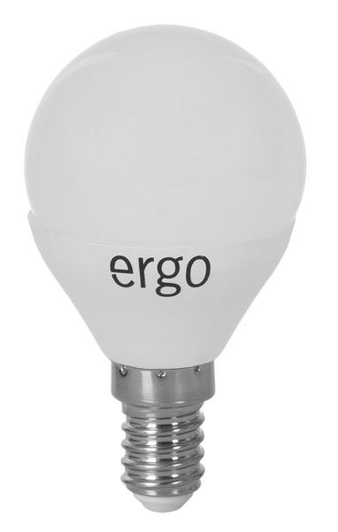 Lamp ERGO Standard G45 Е14 5W 220V Тепл.Бел. 3000K Мат. н/Дим.