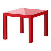 ЛАКК ИКЕА Придиванный столик, красный (В наявности)