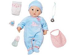 Інтерактивний пупс-хлопчик 46 см Baby born Zapf Creation Baby Annabell 794654