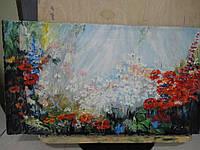 """Картина """"Цветы луговые"""""""