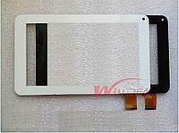 """Uni Pad CM-OSP02B-13QC Емкостной сенсор (тачскрин) 186х111mm 30pin 7"""" черный"""