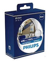 """Автомобильные  лампы """"PHILIPS"""" (H7)(Racing Vision)(+150%)"""
