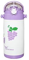"""Питьевой термос """"Виноград"""" для детей ТМ """"Toscana"""", с трубочкой, 0,5 л"""