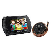 """Видеоглазок с датчиком движения Home Light G6 4,5"""" HD NEW"""