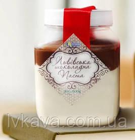 Шоколадно-молочна паста Львівський шоколад Брентон, 200 гр