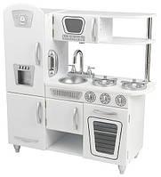 Детская игрушечная кухня из дерева «Винтаж», цвет Белый (White Vintage Kitchen), Kidkraft ZK-53208