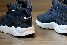 317ed317f6f10e Мужские кроссовки Nike Huarache Winter темно-синие топ реплика, фото 3