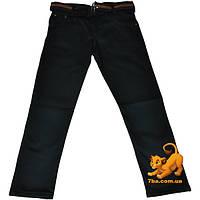 """Стильные детские коттоновые брюки (на байке) """"Kutini & Kutini Jeans Wear""""  для мальчиков от 3-7 лет"""
