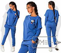 Модный спортивный костюм с в расцвеках 420 (1073)