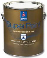 Краска SuperPaint Exterior Acrylic Latex Paint (супер пейнт экстериор)- 3,66л, фасадная латексная матовая