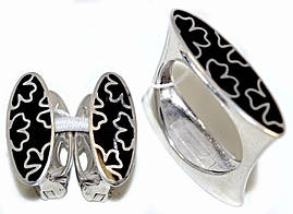 Серебряные женские наборы. Серьги +кольцо. Есть 19р.