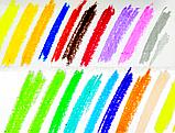 МАРКЕРЫ - СУХОЙ ШЁЛК в наборе - 24 цвета, фото 3