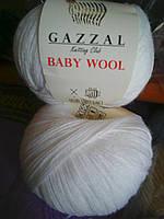 Baby Wool № 801 белый.