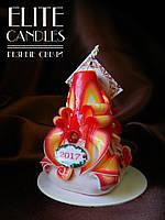 Новогодняя свеча. Подарок любимым и близким на новый год, рождество, день рождения