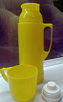 Термос 0,45 желтый, фото 1